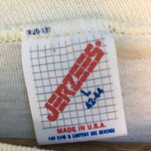 Vintage Shirts - Vintage Single-stitch T shirt Neon FL Beach sz L